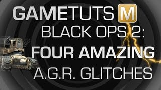 *GOD MODE TUT*Call of Duty: Black Ops 2 - 4 Amazing A.G.R. Glitches! ~Easy in Public Matches~
