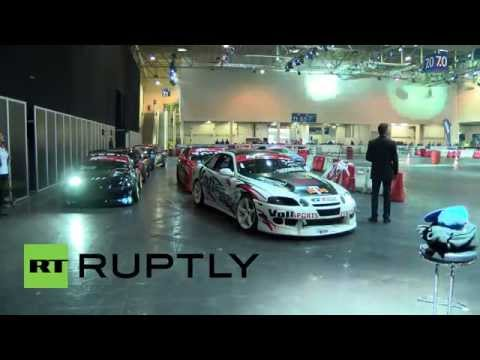 Germany: Ride SHOTGUN with these adrenaline junkie DRIFT CAR drivers