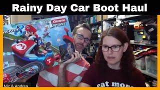 Rainy Day Car Boot Sale Live haul....