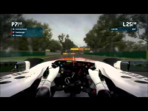 Race Department F1 2013 League Race at Melbourne (Cup Division)