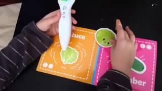 Creative Baby: Interactive Stickerbook & Children's Voice Pen