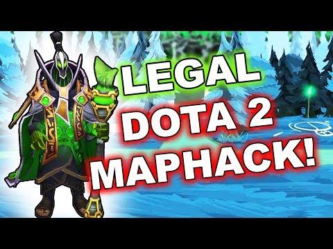 Dota 2 Tricks: Legal 7.07c MapHack!