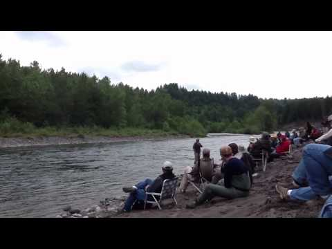 Jeff Putnam at Sandy River Spey Clave 2013 (PART 1)