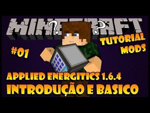 Introdução e Básico - Tutorial 01 de Applied Energitics (Minecraft 1.6.4)