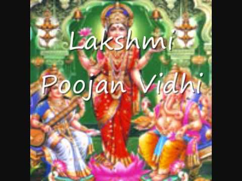 Happy Diwali - Lakshmi-kuber-diwali-poojan - Diwali Pooja Vidhi.  How To Do Diwali Pooja video