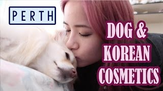 Dog Cafe FAIL & Korean Makeup with Janelle! | Kim Dao