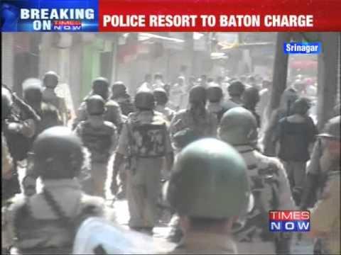 Anti-Israel protests erupt in Srinagar