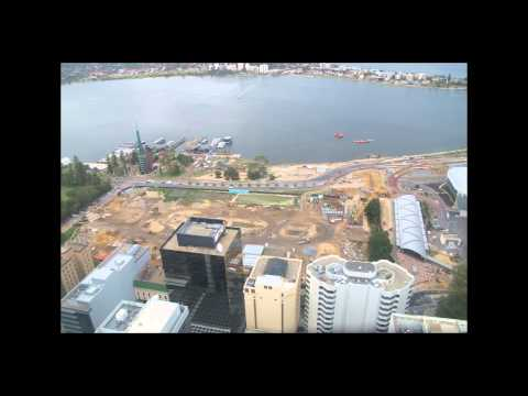 Timelapse, Level 42 St Georges Tce, Perth Australia (2013-05-16)