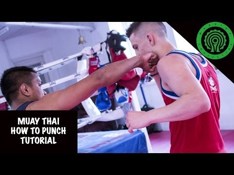 Muay Thai How to Punch Tutorial Image 1