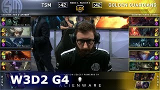 TSM vs GGS | Week 3 Day 2 S9 LCS Spring 2019 | TSM vs Golden Guardians W3D2