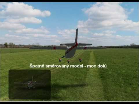 Starty s modelem letadla