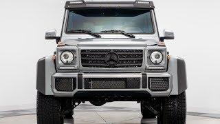 The Mercedes G550 4x4² is UGEEEEEE!