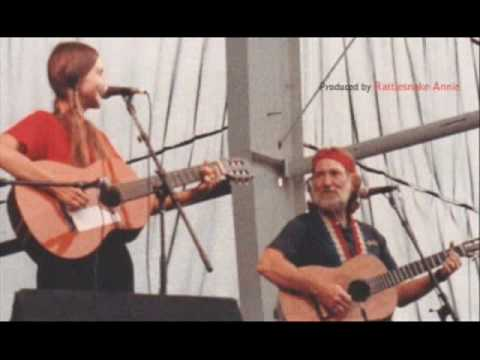 Rattlesnake Annie &amp; Willie Nelson - Long Black Limousine