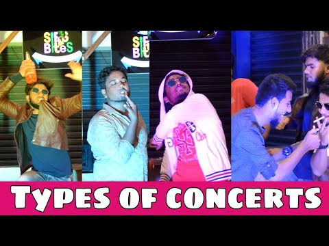 Types of concerts || New year || funny videos || Nizambad diaries ||