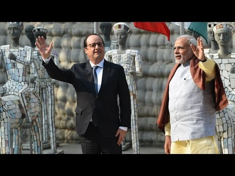 France and India sign a memorandum of understanding on 36 Rafale Jets
