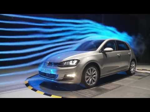 Volkswagen Golf - Aerodynamics | AutoMotoTV