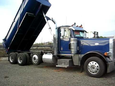1996 Peterbilt 379 Dump Truck for Sale - YouTube