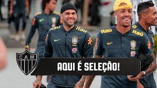 Atlético recebe a Seleção Brasileira na Cidade do Galo