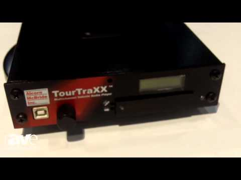 InfoComm 2014: Alcorn McBride Inc. Presents TourTraXX (Multichannel Vehicle Audio Player)