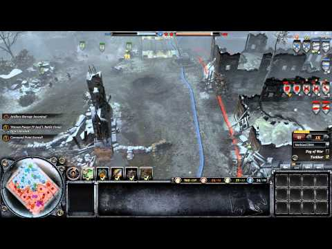 Company of Heroes 2- That Moment when you Smash the enemy