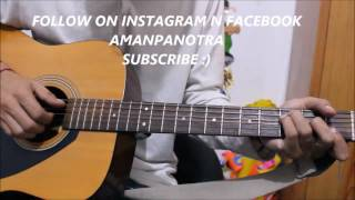 download lagu Darasal - Atif Aslam - Guitar Cover Lesson Chords gratis
