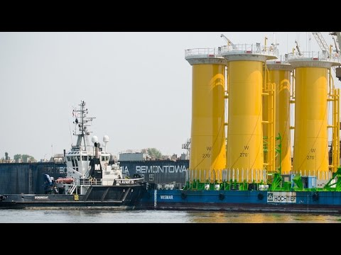 1,376 Tons Oversize Transition Pieces Dong Energy Offshore Windpark Race Bank