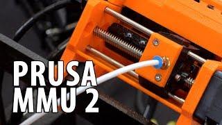 Prusa i3 mk3 MMU 2 - 3D Printing 5 Materials / Colors at Once #BAMF2018
