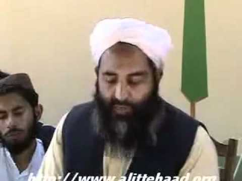 Molana Ilyas Ghuman Sb.--shia Kafir video