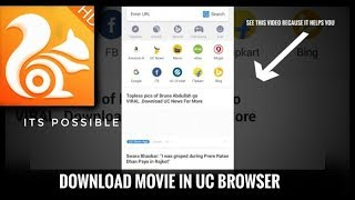 How to download movie in uc browser