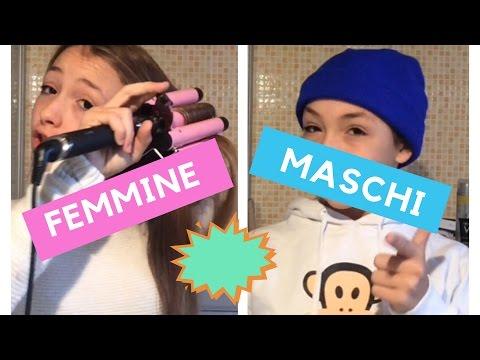 MASCHI VS FEMMINE!