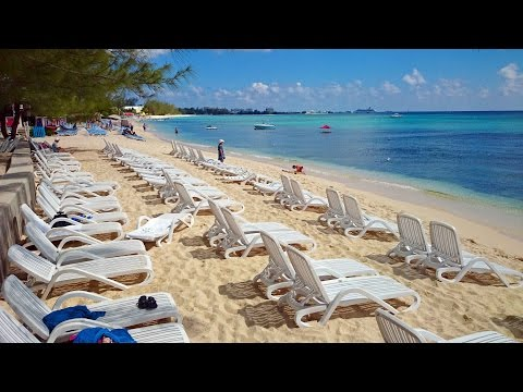 Tiki Beach on Grand Cayman Island HD