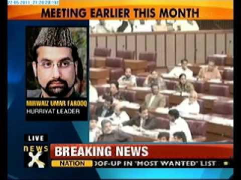 Mirwaiz Umar Farooq met ISI Chief?
