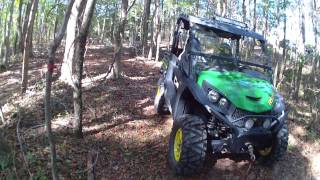 2015 JOHN DEER 850i GATOR TEST RIDE BY MUDD MAN