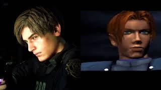 Resident Evil 2 Remake vs Resident Evil 2 Comparison | PSX vs PS4 | 4K60
