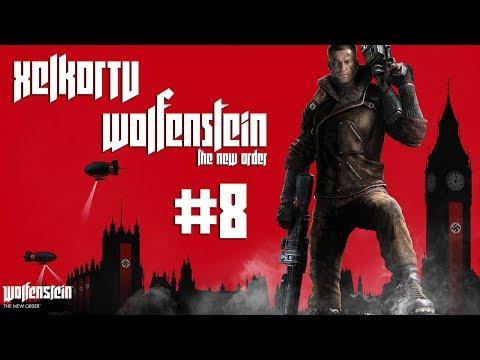Wolfenstein The New Order | Gameplay HD Español | Submarino nuclear y un viaje a la Luna! | Parte 8