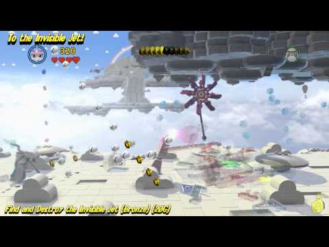 "The Lego Movie Videogame: ""To The Invisible Jet!"" Trophy/Achievement - HTG"