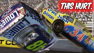 GETTING AIRBORNE AT MARTINSVILLE?! // NASCAR 2011 Funny Eliminator Racing