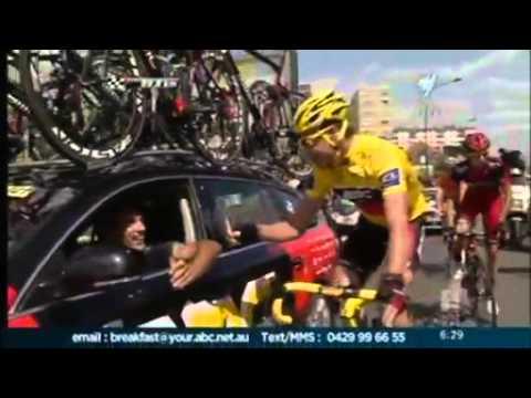 Cadel Evans triumphs in Paris