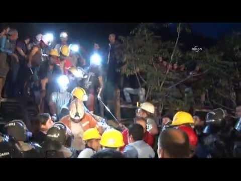 Soma'da maden işçilerinin çıkarılmasına devam ediliyor