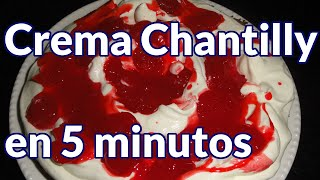 Breakfast | como hacer crema chantilly en 5 minutos | como hacer crema chantilly en 5 minutos