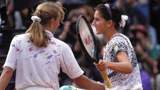 Monica Seles vs Steffi Graf 1992 Roland Garros Final Highlights