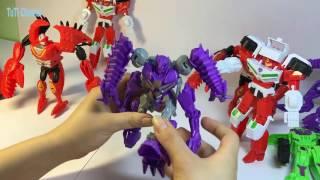 Superman and robot - Đồ chơi siêu nhân biến hình -TuTi channel