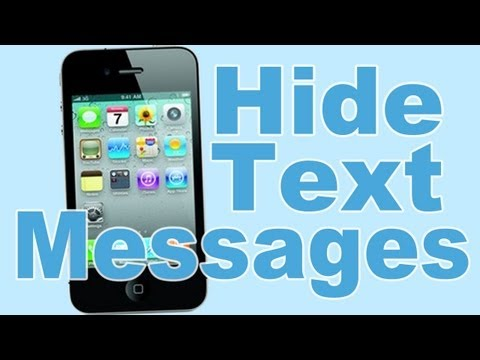 How To Hide Text Messages on iPhone Music Videos