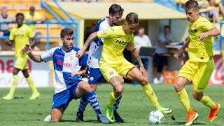 Resumen Villarreal B 3-1 Sabadell