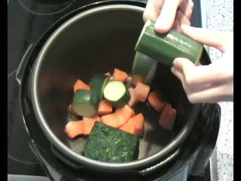 Recetas para adelgazar - Crema de verduras