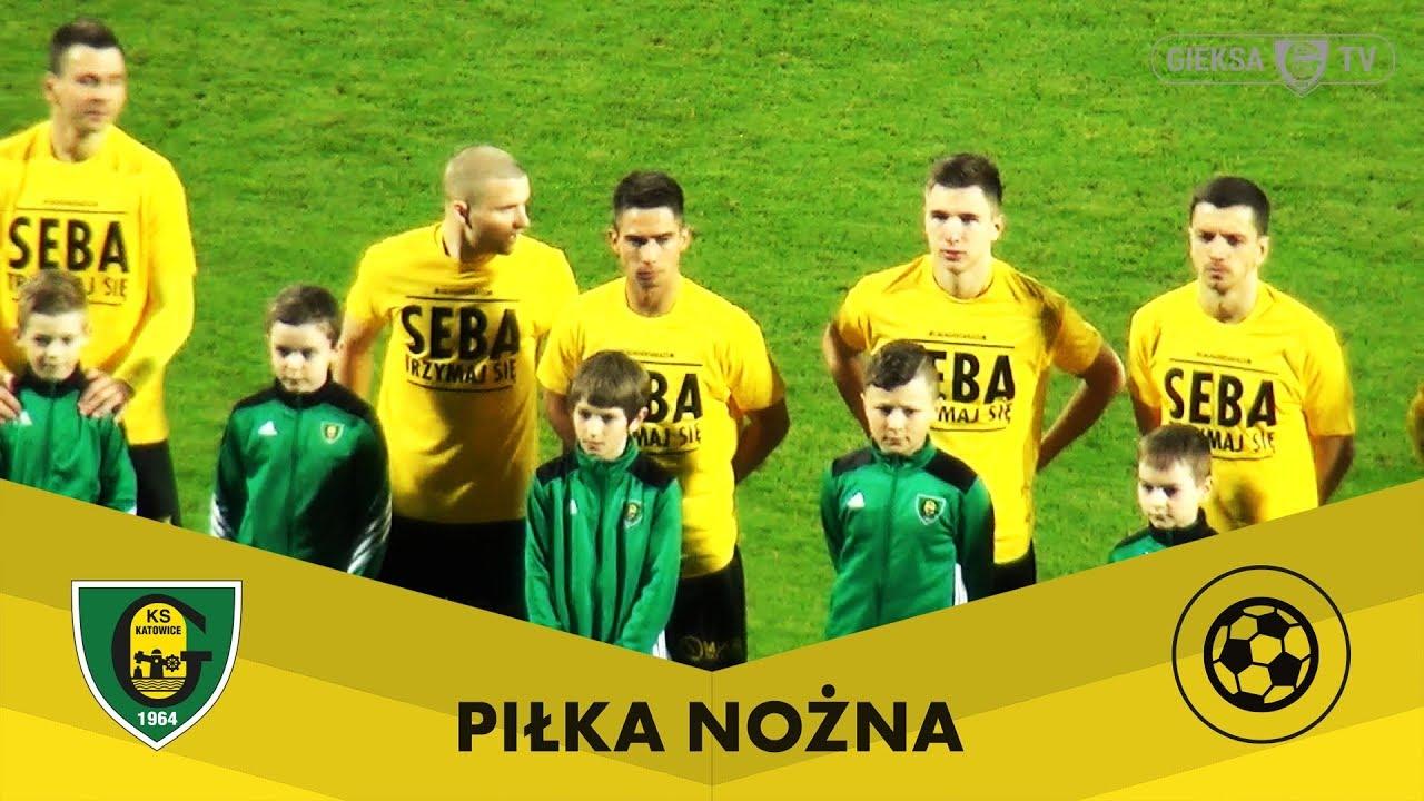 Skrót meczu GKS Katowice - Zagłębie Sosnowiec (31.03.2018)