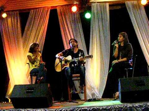 Lilly, Alex Campos  y Marcela Gandara  Junto a ti