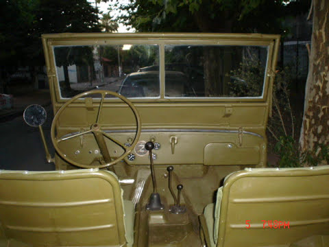 restauracion jeep willys MB 1943