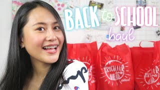 Back To School Haul 2018 + Giveaway! Ft. NBS | Lexy Rodriguez
