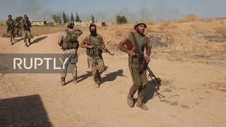 Syria: Turkish-backed forces advance into Tel Abyad